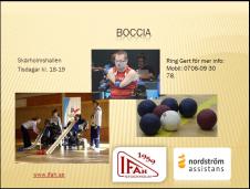 IFAH Boccia Inbjudan 2015