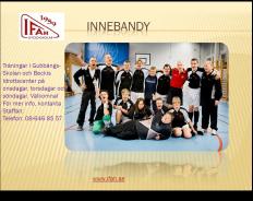 IFAH Innebandy inbjudan 2015